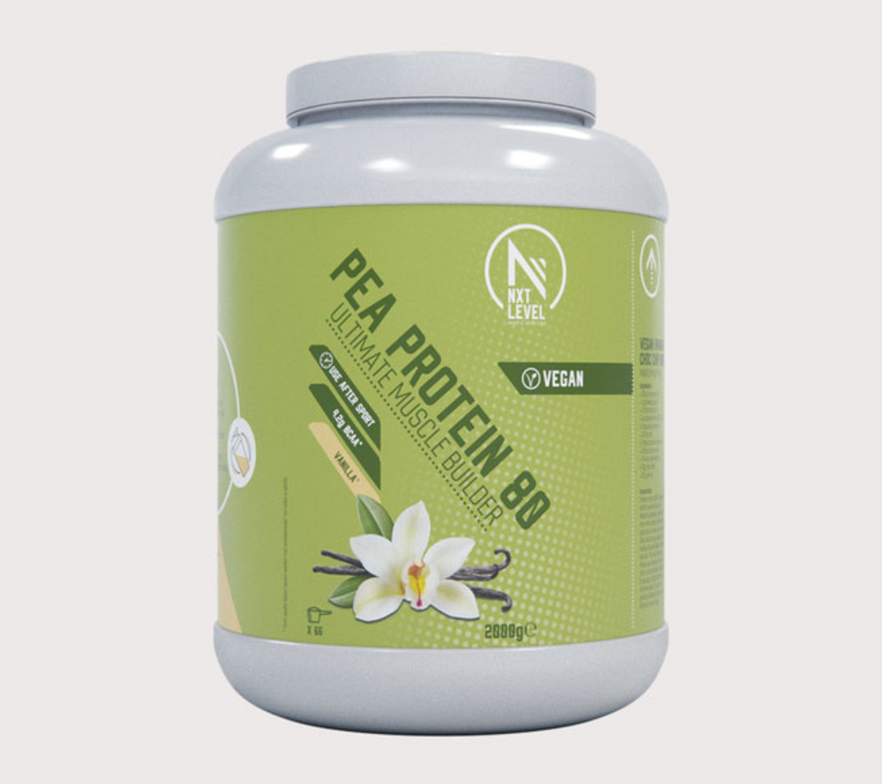 Pea Protein (2kg) - Vainilla