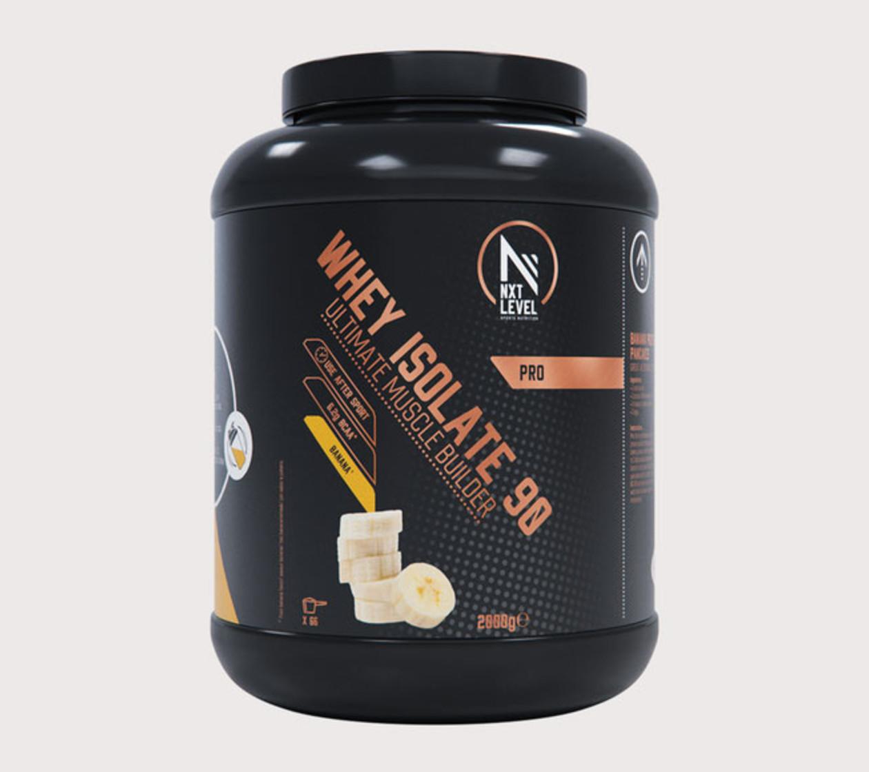 Whey Isolate 90 (2kg) - Kies uit 4 smaken