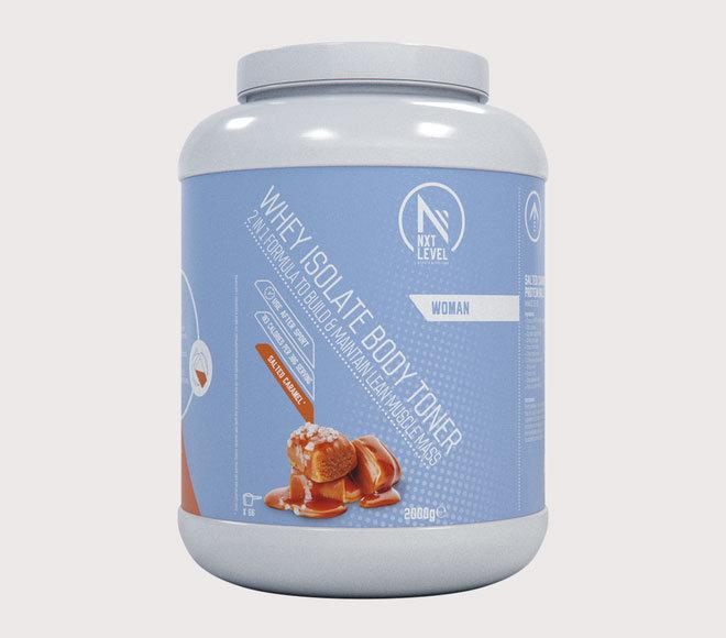 Whey Isolate Body Toner - Karamel Zeezout  - 2kg