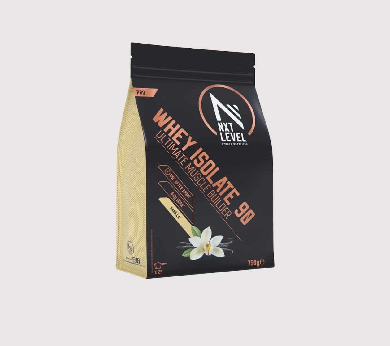 Whey Isolate 90 (750g) - Elija entre 4 sabores