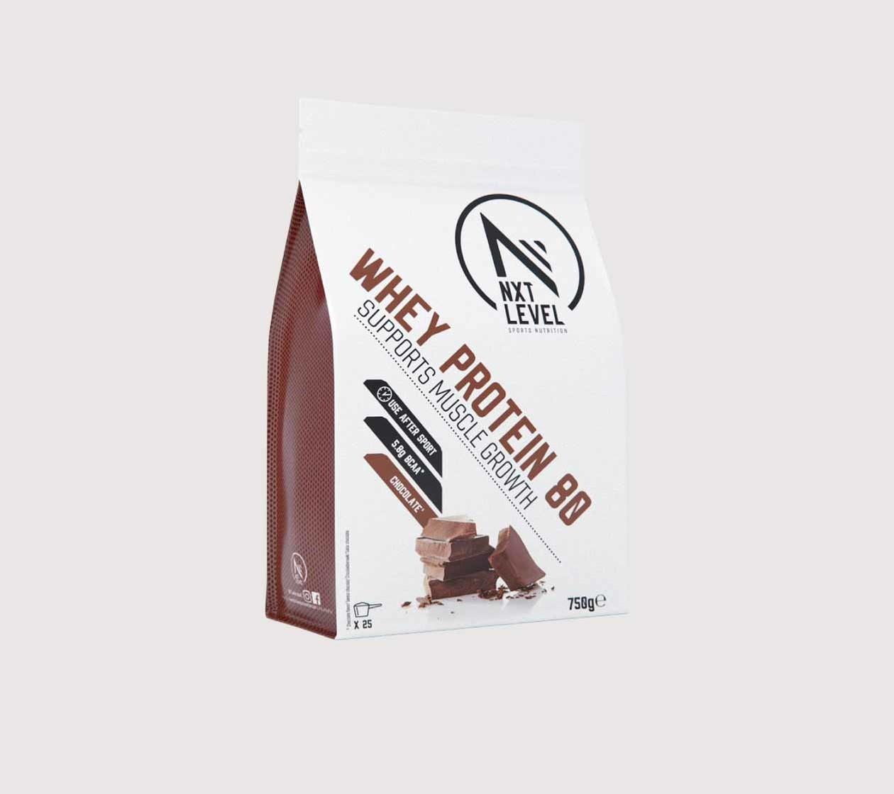 Whey Protein 80 (750g) - Choisissez parmi 3 saveurs