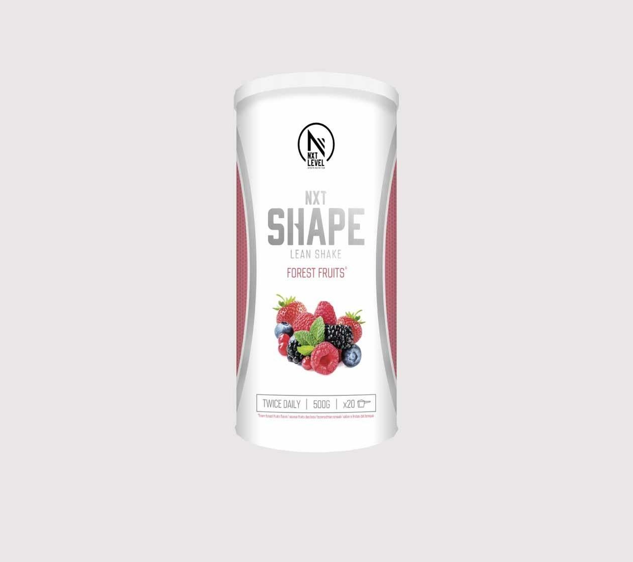 NXT Shape Lean Shake (500g) - Choisissez parmi 3 saveurs