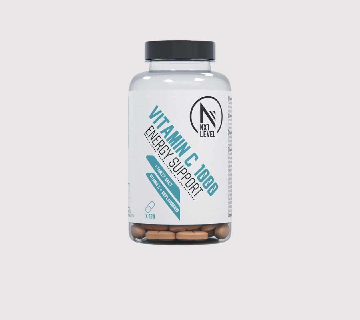 VITAMINA C - 60 tabletas - 1 al dia