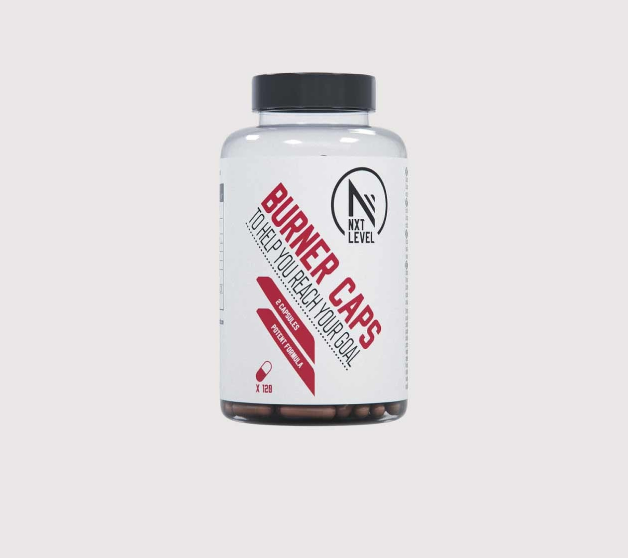 Burner Caps - 120 capsules - 2 per dag