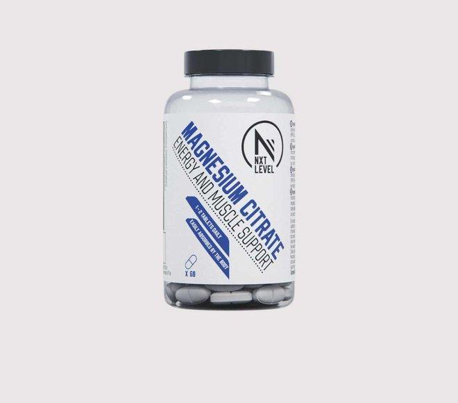 Magnesium Citrate - 60 tabletas - 1-2 al dia