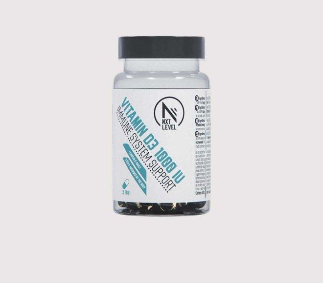 VITAMINA D3 - 100 cápsulas - 1 cápsula al dia