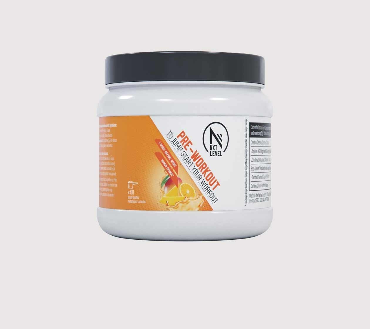 Pre Workout (300g) - Choisissez parmi 2 saveurs
