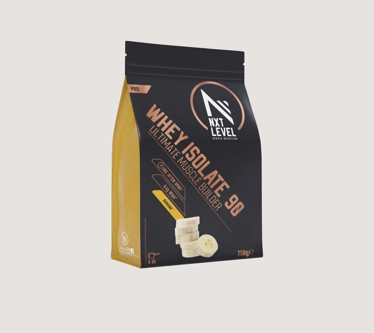 Whey Isolate 90 (750g) - Kies uit 4 smaken