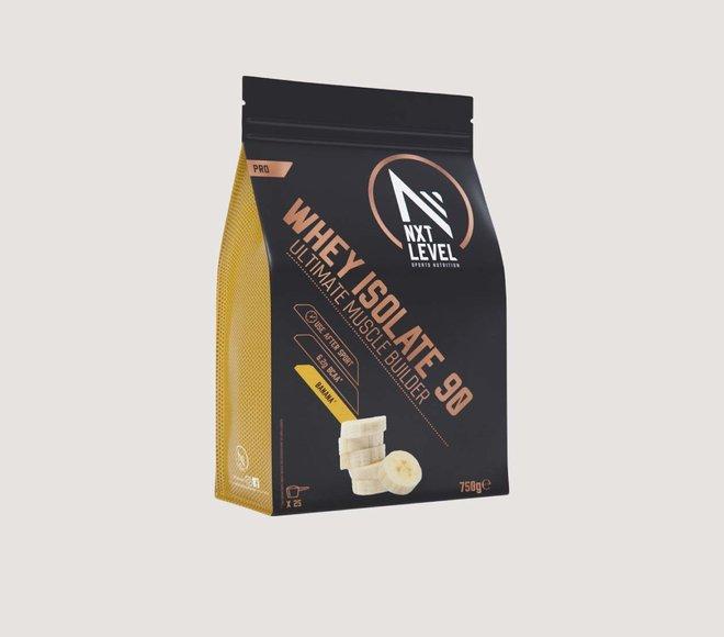 Whey Isolate 90 (750g) - Choisissez parmi 4 saveurs