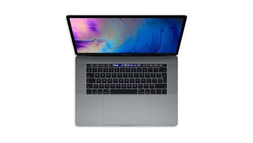 "MacBook pro 15"" Touch Bar | Space Gray | 1TB SSD | Intel Core i7 | 16GB RAM | 2.6GHz | QWERTY Internationaal"