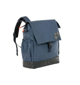 Lassig Lassig verzorgingstas little one & me backpack reflective small navy