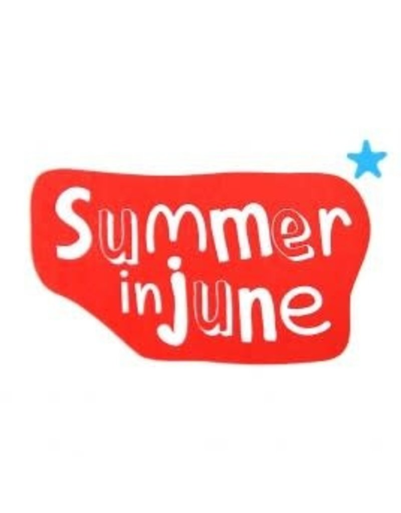 Summer in June Summer in june sokjes 2 pack blauw