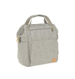 Lassig Lässig Goldie Diaper Backpack Bouclé beige
