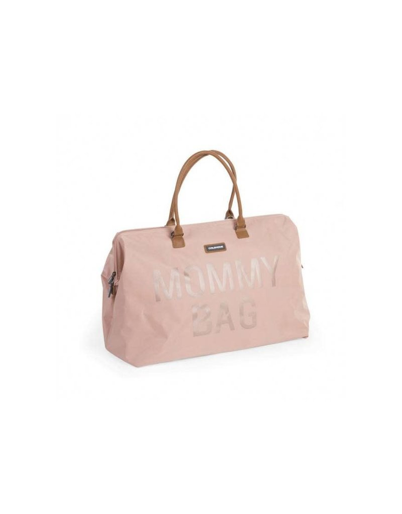 Childhome Childwheels mommy bag big pink copper