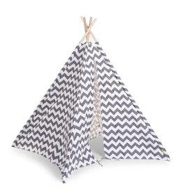 Childhome Childwood tipi tent zigzag grijs wit