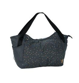 Lassig Lassig verzorgingstas twin bag triangle dark grey