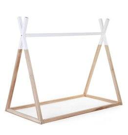 Childhome Childwood tipi cotbed frame beech 70x140
