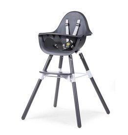 Childhome Childwood evolu 2 stoel antraciet 2 in 1 + beugel