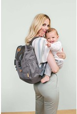 Lassig Lassig verzorgingstas little one & me backpack big grey