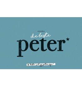 Leuke kaartjes Leuke kaartjes Beste peter