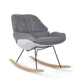 Childhome Childwood  rocking lounge chair white