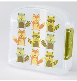 Sugarbooger Sugarbooger sandwich box what did the fox eat