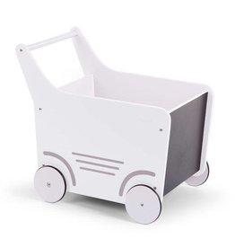 Childhome Childhome houten wandelwagen wit