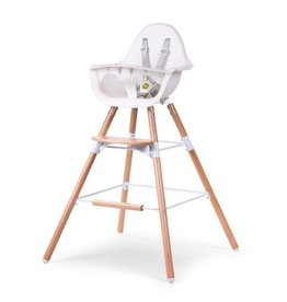 Childhome Childwood evolu 2 set lange poten + voetensteun beuk naturel