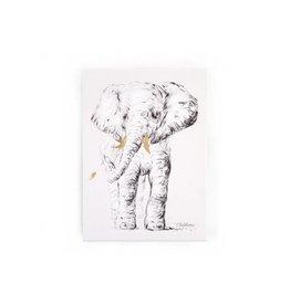 Childhome Childhome schilderij olifant