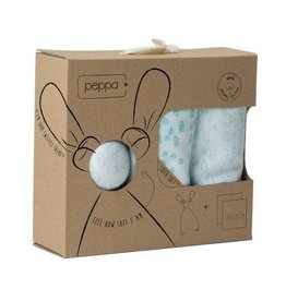 Peppa Peppa gift set houses soft white/mint