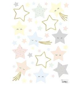 Lilipinso Lilipinso wall stickers stars laughing