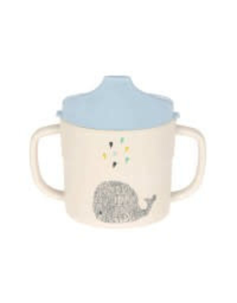 Lassig Lassig sippy cup bamboo little water whale
