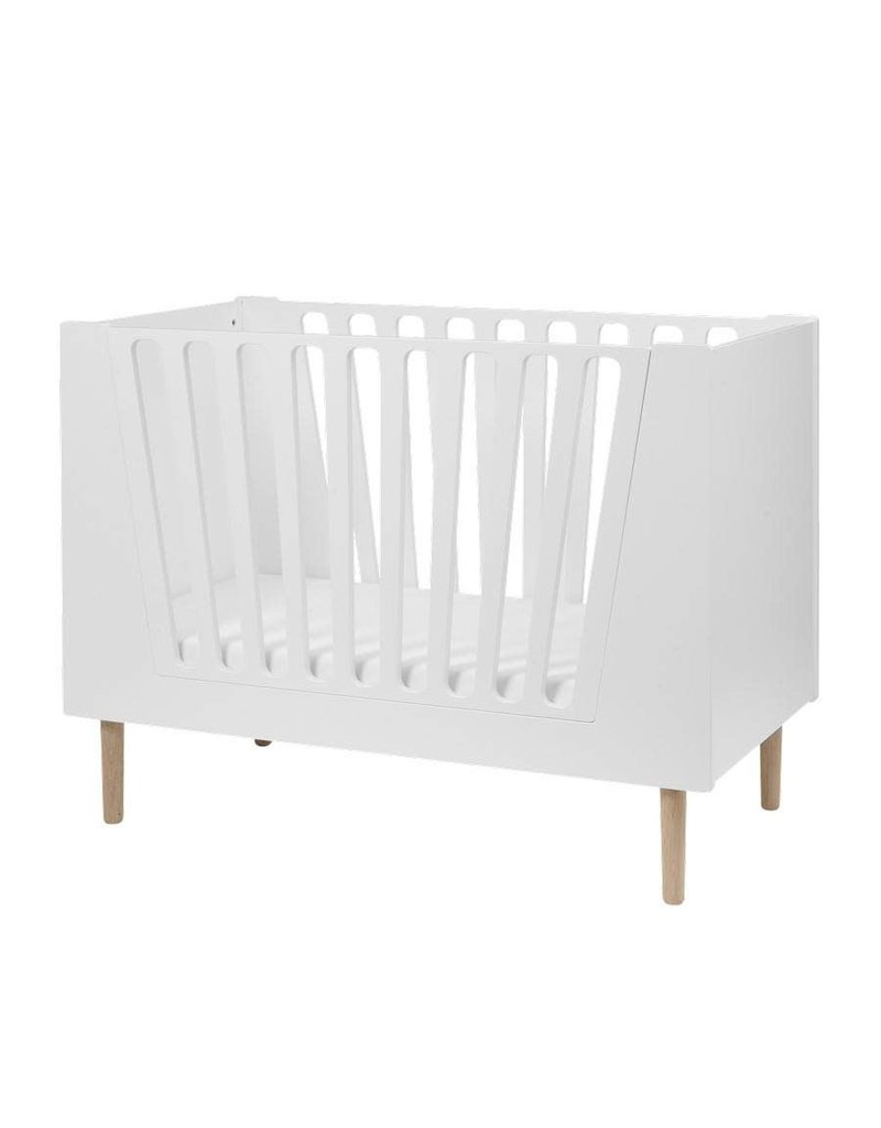 Peuterbed Comming Kids.Done By Deer Baby Peuterbed White 60x120 Monstertjes Urban