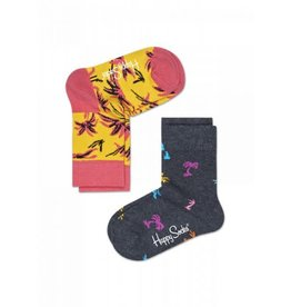 Happy Socks Happy Socks 2-pack Palm Beach 12-24m