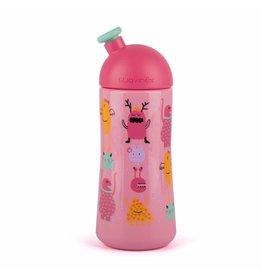 Suavinex Suavinex fles sporty Booo roze