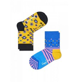 Happy Socks Happy Socks 2-pack Bang Bang yellow