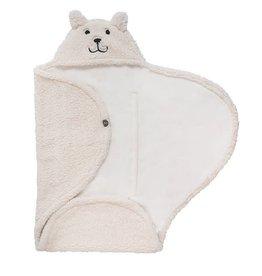 Jollein Jollein wikkeldeken teddy bear off white