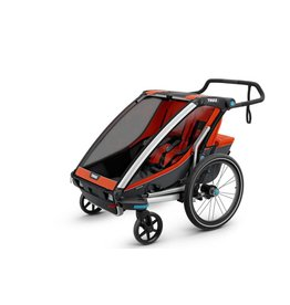 Thule Thule Chariot Cross 2 kid roarange/dark shadow