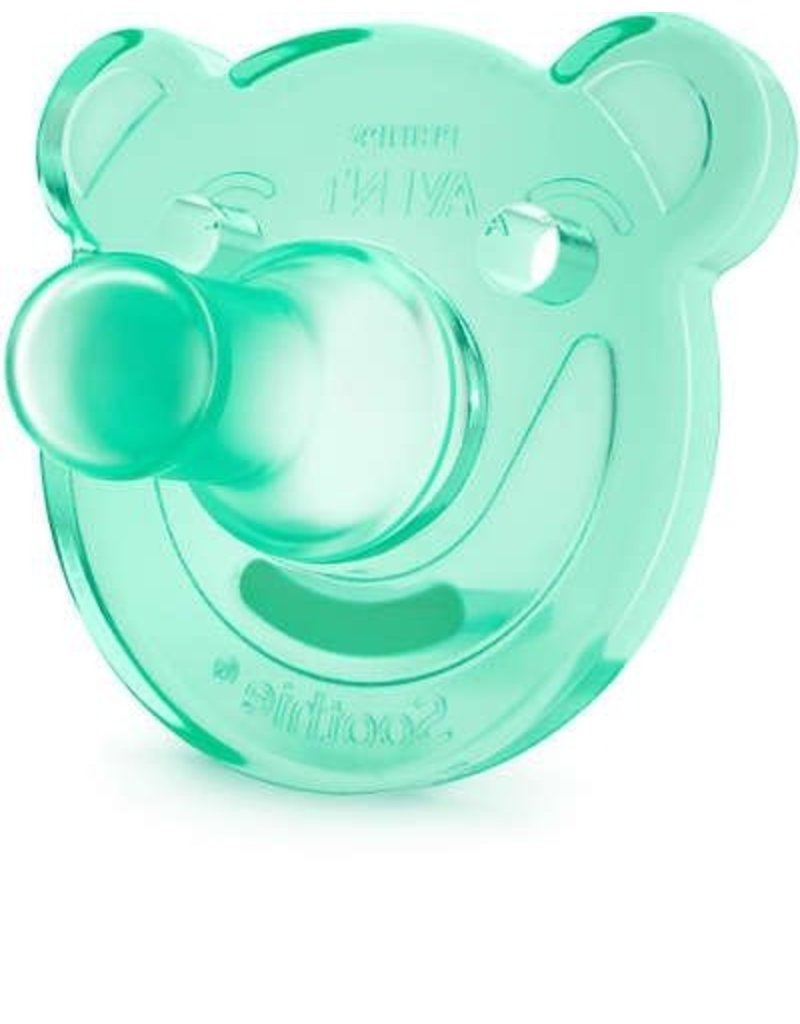 Avent Avent Soothie speen 0-3m blue/green 2st