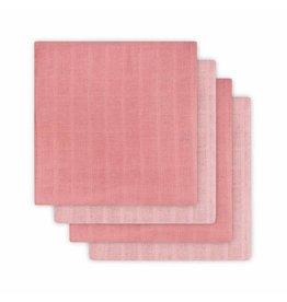 Jollein Jollein tetradoeken coral pink 4st