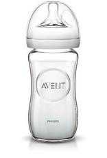 Avent Philips Avent glazen natural babyfles 240 ml