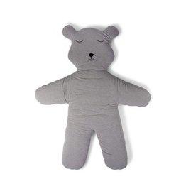 Childhome Childwood speelmat teddy bear jersey grey 150m