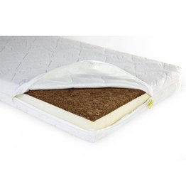 Childhome Childwood Duo Kokos Naturel Safe Sleeper matras 60x120cm