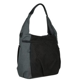 Lassig Lassig verzorgingstas casual hobo bag black