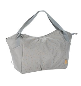 Lassig Lassig verzorgingstas twin bag triangle light grey
