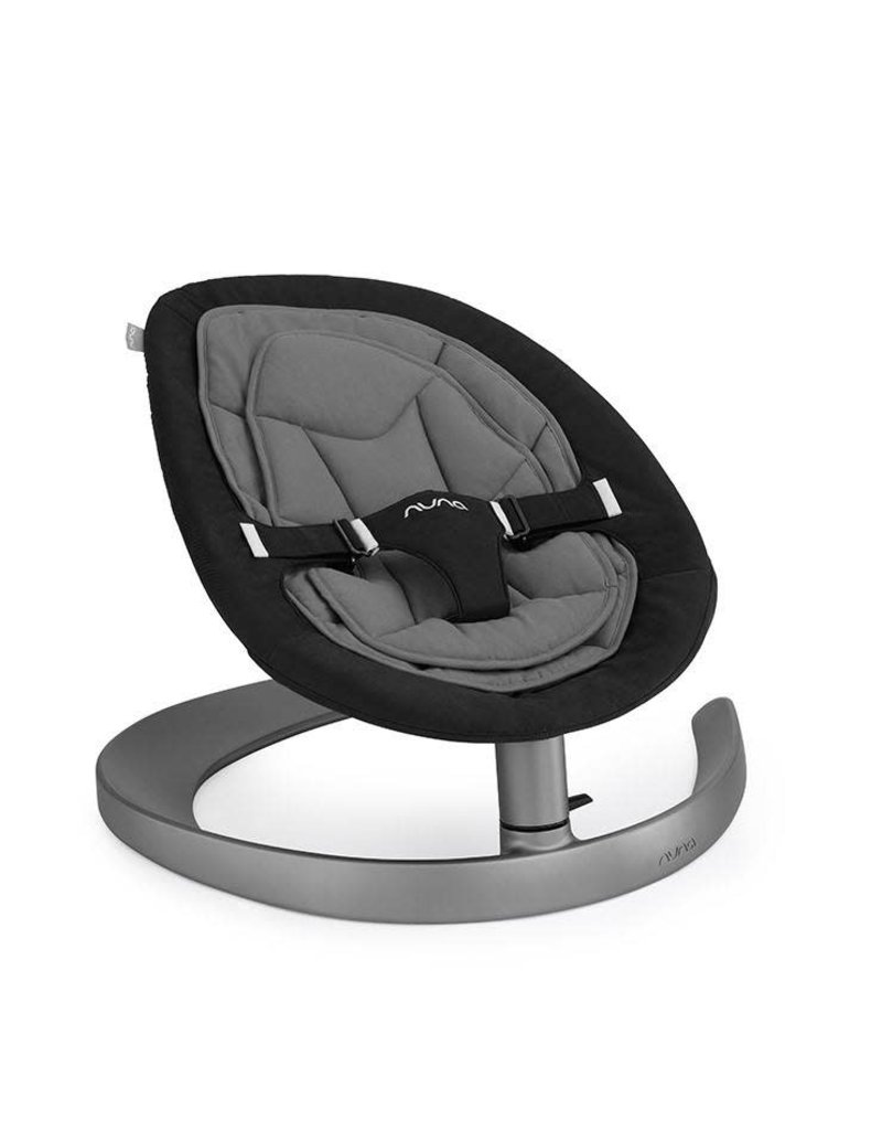 Nuna Nuna Leaf Curv schommelstoel Dusk zwart grijs