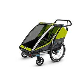 Thule Thule Chariot Cab 2 kid chartreuse/dark shadow