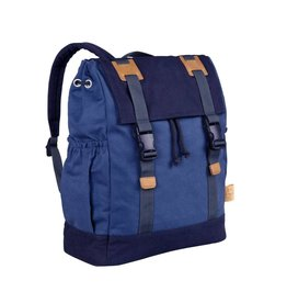 Lassig Lassig verzorgingstas little one & me backpack big blue