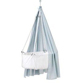 Leander Leander wiegje canopy stof Misty Blue
