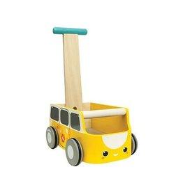 PlanToys PlanToys loopwagen geel